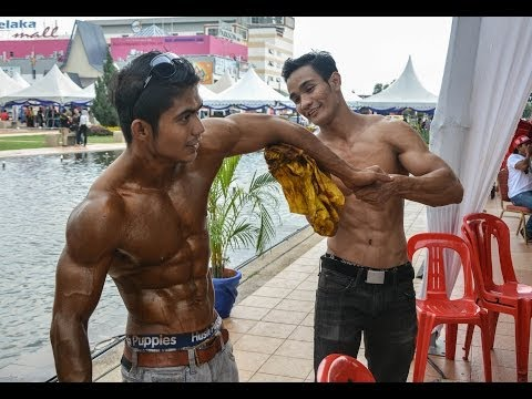 Mr Body Fitness Melaka 2014: Backstage Scene