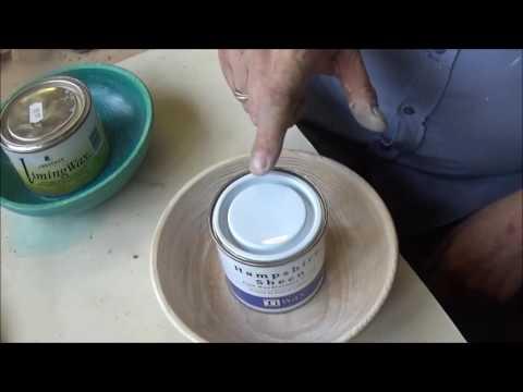 Woodturning at 54a #97. 2 Ash bowls and wax stick review