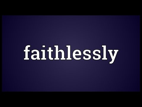 Header of faithlessly