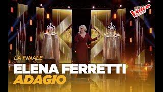 """Elena Ferretti """"Adagio"""" – Finale – The Voice Senior"""