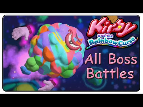 Kirby and the Rainbow Curse All Bosses