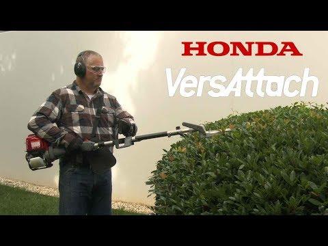 Honda VersAttach Hedge Trimmer Attachment Operation