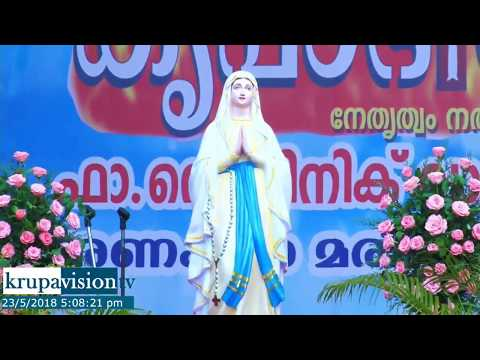 Fr.Dominic Valanmanal Leading Trivandrum Bible Convention 2018