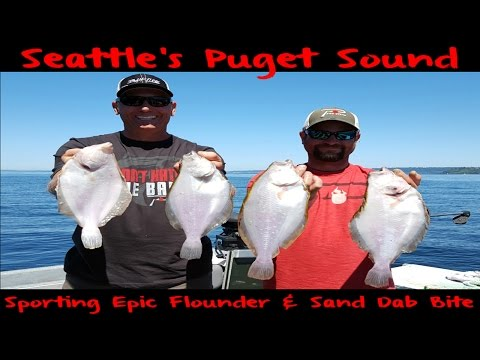 Fishing For Puget Sound's Flounder & Sand Dabs