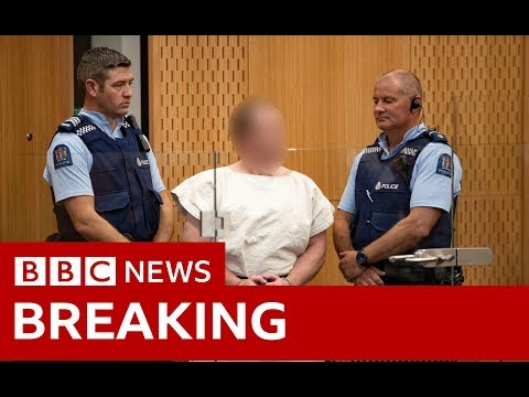 Christchurch shootings: Suspect Brenton Tarrant appears in court - BBC News