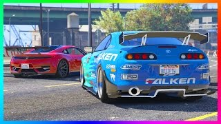 NEW GTA ONLINE DLC VEHICLE THAT WOULD BE PERFECT - DINKA JESTER FAST & FURIOUS RETRO SUPRA! (GTA 5)
