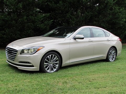 2015 Hyundai Genesis 3.8 H Trac Start Up, Test Drive, and In Depth Review