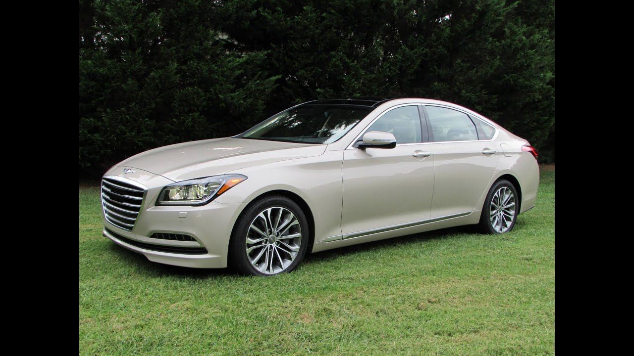 2015 hyundai genesis 3 8 h trac start up test drive and in depth review youtube