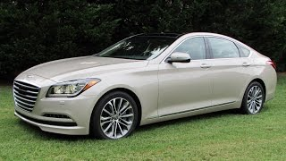 2015 Hyundai Genesis 3.8 H-Trac Start Up, Test Drive, and In Depth Review