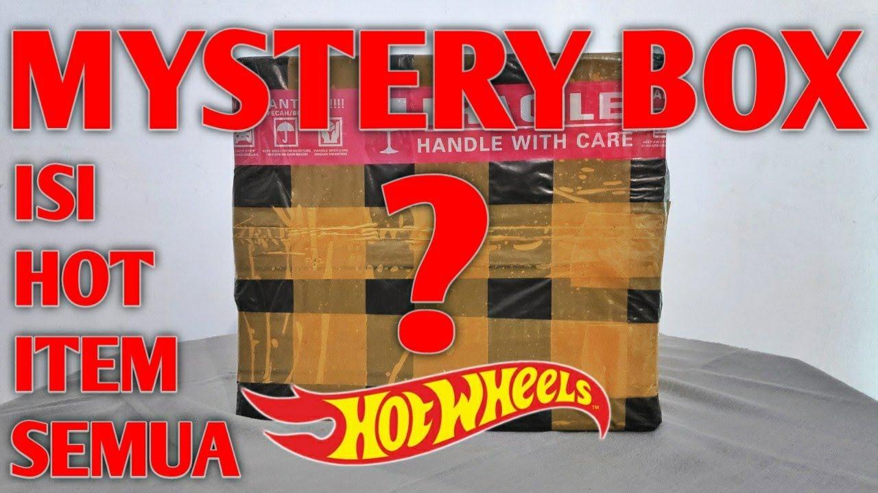 UNBOXING MYSTERY BOX HOT WHEELS SUPER HOT