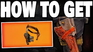 The Division 2 - HOW TO GET 1ST EXOTIC ARMOR PIECE (Gunslinger's Holster) !!