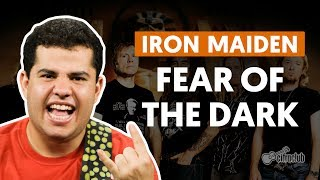 Fear Of The Dark - Iron Maiden (aula de guitarra)