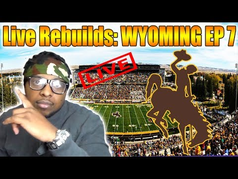 Live Rebuilds: Wyoming - Road to a National Championship Ep7 - NCAA FOOTBALL 14 DYNASTY