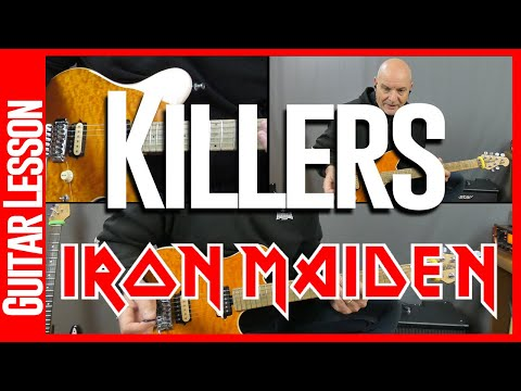 Killers By Iron Maiden - Guitar Lesson