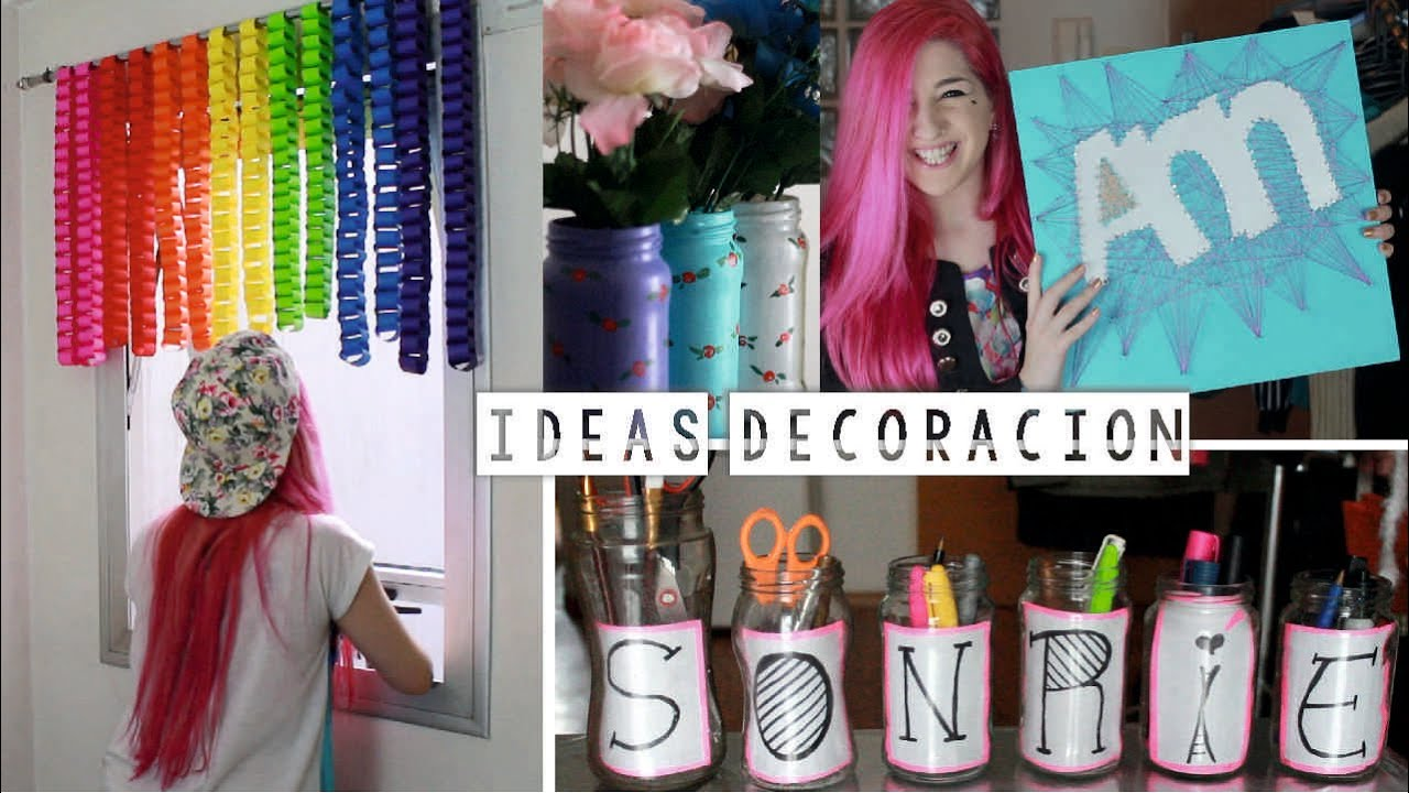 Decorar tu habitaci n cuatro ideas econ micas ann look youtube - Como decorar mis fotos ...