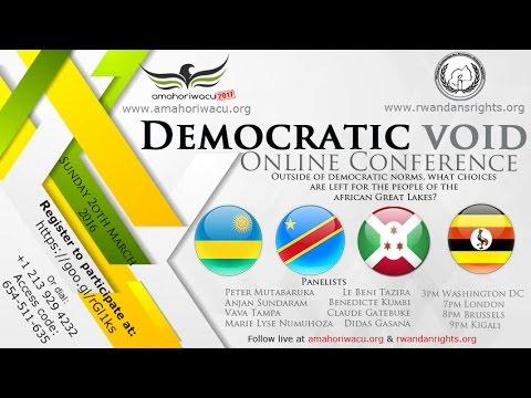 Amahoriwacu2017:  Democratic Void in African Great Lakes Region