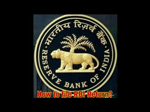 How to File RBI Return । Online Filing of RBI Annual Return NBS-9  । RBI Return step-by-step Demo ।