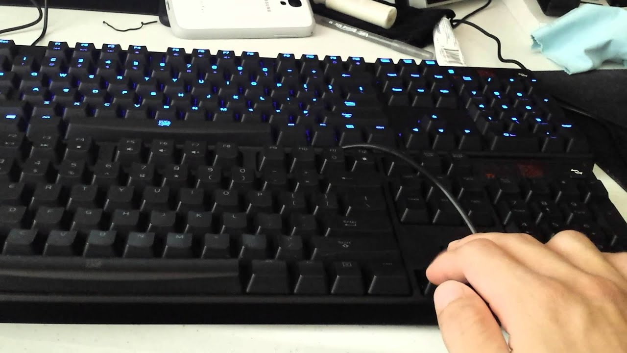 tt esports poseidon cherry mx blue switch and mx brown switch keyboard comparison youtube. Black Bedroom Furniture Sets. Home Design Ideas