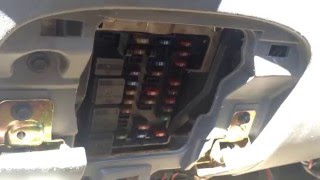 Ford Expedition 1996-2002 Fuse Box Location - YouTube | 2002 Expedition Fuse Box Diagram |  | YouTube