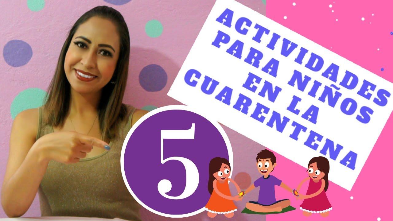 Download 5 actividades divertidas para niños en casa