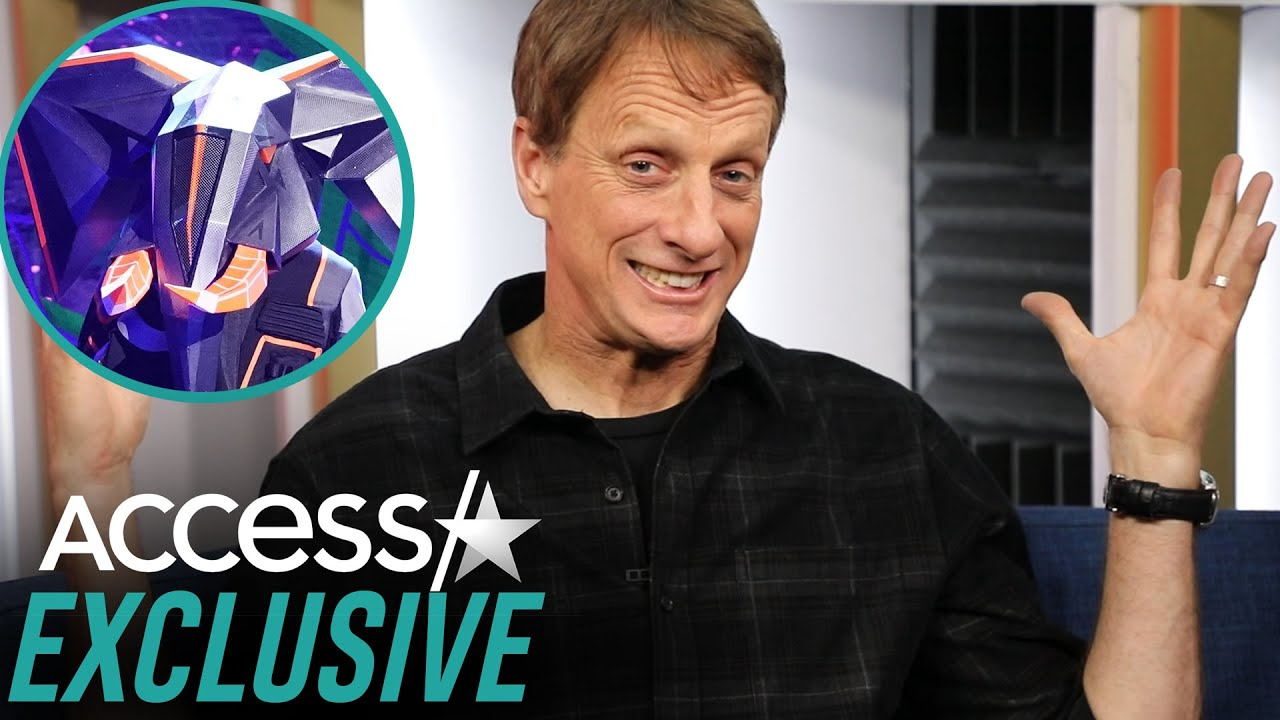 Pro Skateboarder Tony Hawk Talks 'The Masked Singer'