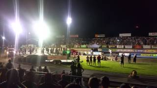 Nitro funny car Woodburn dragstrip night of fire