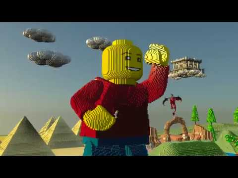 LEGO Worlds: Console Announcement Trailer