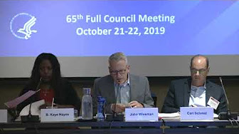 Presentations & discussions about the Plan during October 2019 PACHA meeting in Miami, FL (Oct. 21-21, 2019)