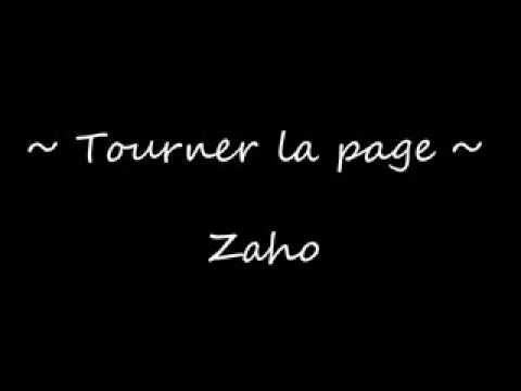 zaho tourner la page instrumental