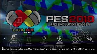 PES 2018 LIGA MX PSP OFFICIAL Chelito19 | Direct links
