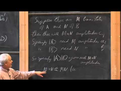016 Composite Systems - Entanglement and Operators