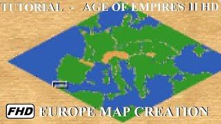 Age of Empires Avrupa'da bir Harita oluşturma II HD