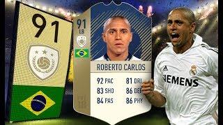 FIFA 18 - Rzeźnik i bolec w jednym - 91 Prime Roberto Carlos!