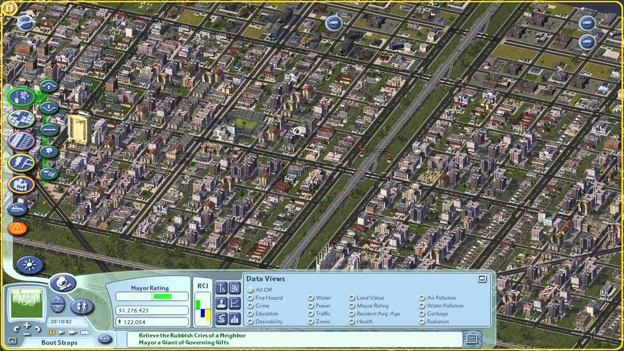 let 39 s play simcity 4 traffic taxes and bulldozers oh my youtube. Black Bedroom Furniture Sets. Home Design Ideas