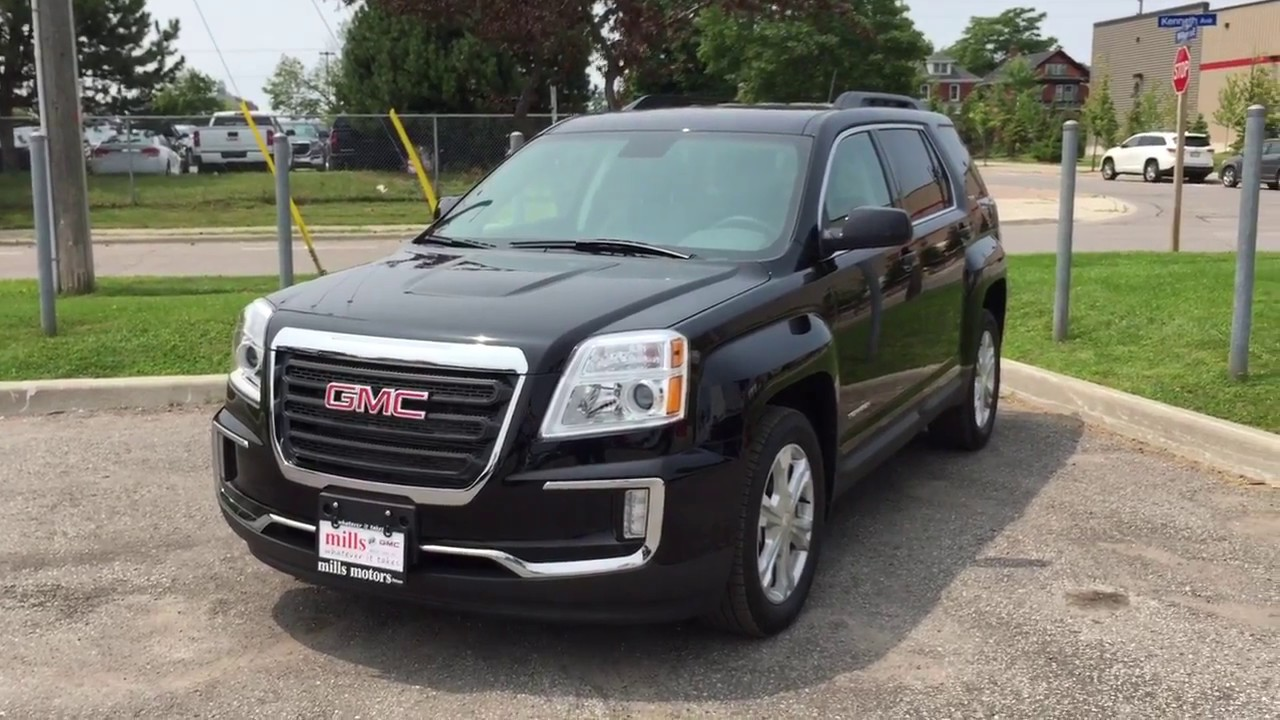 2017 gmc terrain sle 2 awd front and rear park assist black oshawa on stock 171698 youtube. Black Bedroom Furniture Sets. Home Design Ideas
