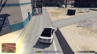 Kuruma Trick in Prison Break Heist finale, GTA5. (Video not commercial)