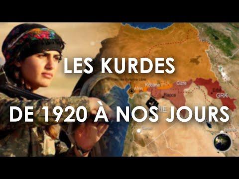 LES KURDES, DE 1920 À NOS JOURS (en Cartes)