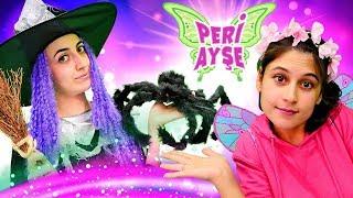 Peri Ayşe. Cadı Sevcan iklim değişikliği yapıyor! Çocuk videosu