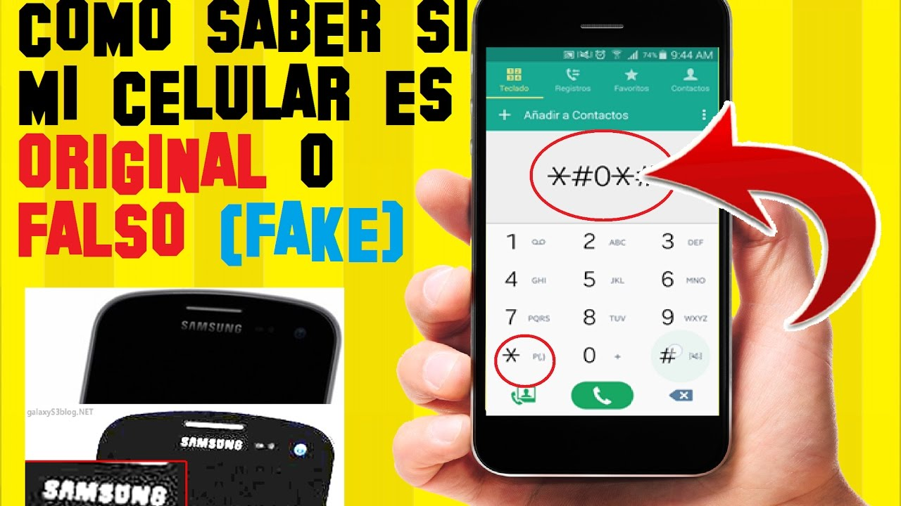 Como saber si mi celular es original o falso en 4 pasos for Como saber si es marmol