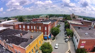 Aerial View of Asheboro, NC - dji Phantom 2 Vision +