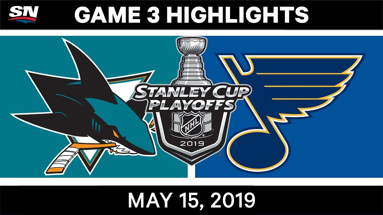 Sharks Vs. Blues Round 3 Game 4 Recap