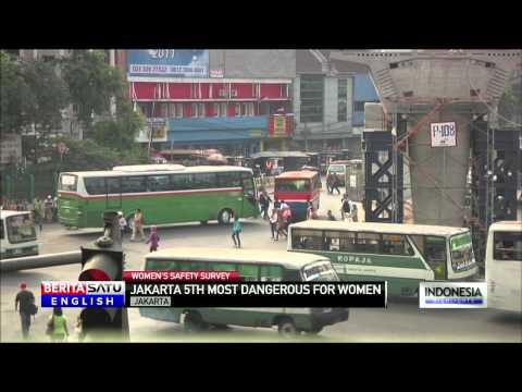 Jakarta World's 5th Most Dangerous City for Women on Public Transportation: Reuters