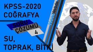 🌲 💧 4) KPSS 2020 Coğrafya Soru Çözümü Engin Eraydın - Su,Toprak,Bitki