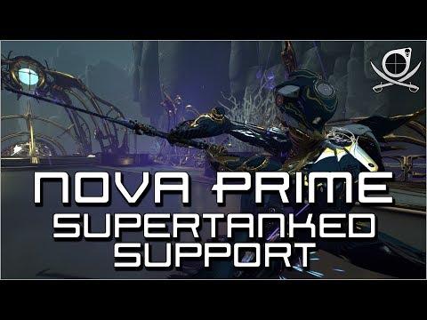 (Warframe) Nova Prime - Supertanked Support!