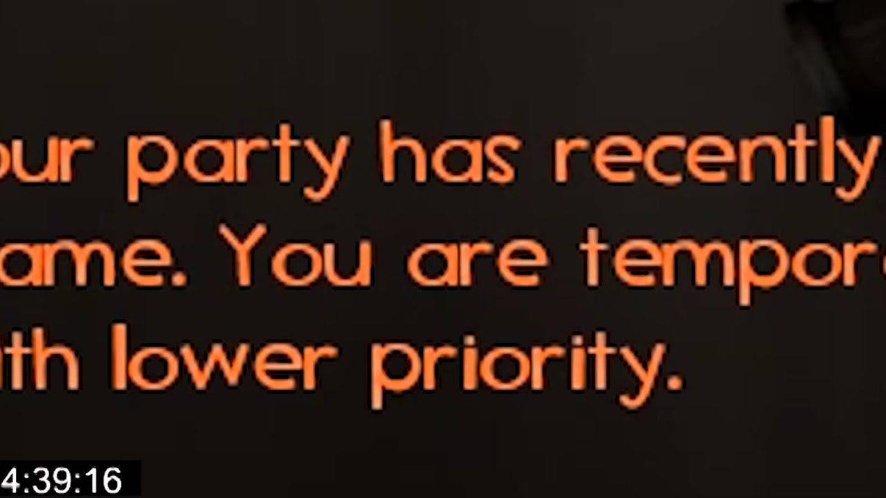 low priority matchmaking queue