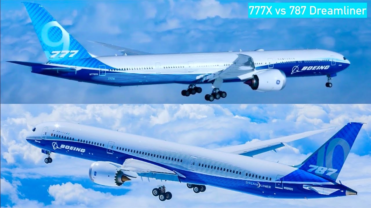 Boeing 777x vs 787: Size vs Efficiency