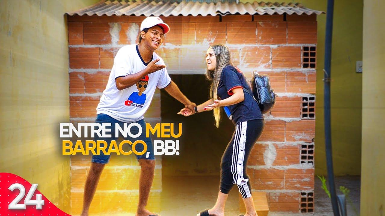 CHAMOU A EX NAMORADA PRA CONHECER O BARRACO ( Nathanflix )