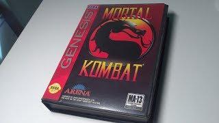 Распаковка прохождение игры Mortal Kombat 1 SEGA