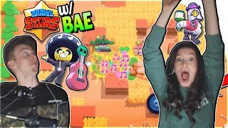 NEW FREE BRAWL STARS BATTLE ROYALE DUO *w/ BAE* (Poco + Barley DREAM TEAM) in Brawl Stars Gameplay