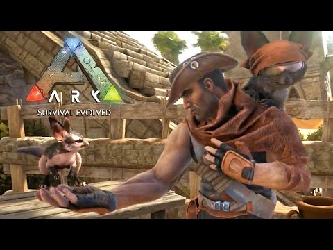 ARK: Survival Evolved   PS4 Launch Trailer. GameSpot